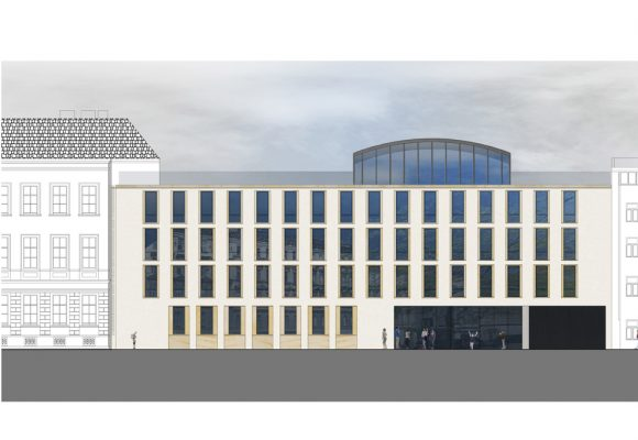2012 Open Competition Extension of a Secondary School in Lessinggasse, Vienna