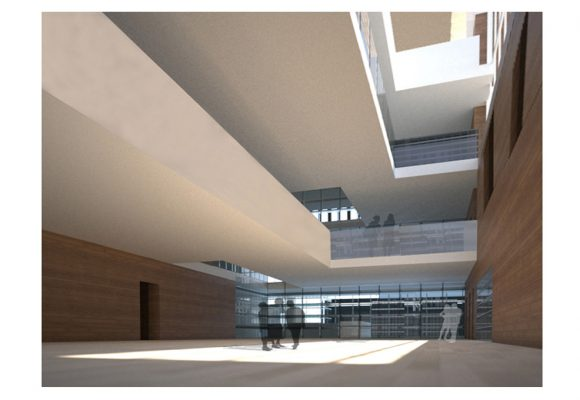 2011 International Competition 2nd Prize_Headquarters of the Hidrographical Confederation Miño-Sil, Orense