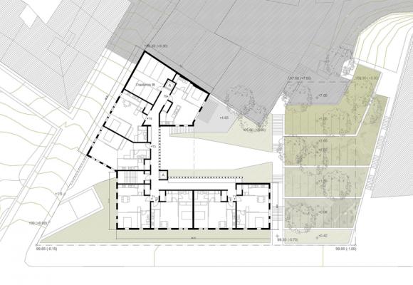 2008 Restricted Competition Social Housing in Xoan XXIII Ave. Santiago de Compostela, Spain