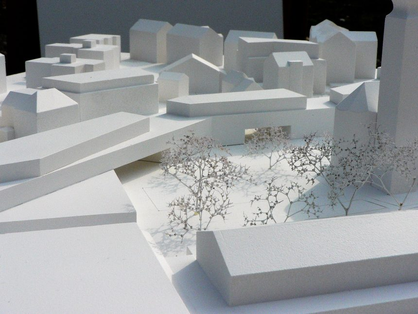 2017  2 Preis_Wettbewerb Belebung und Gestaltung Dorfzentrum AU , Schweiz