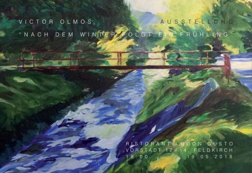 19 May, 2018_ Vernissage Víctor's Exhibition in Feldkirch