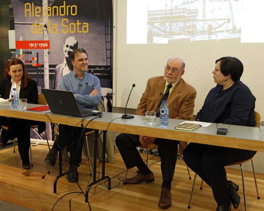 Feb. 2019 Conversation about Alejandro de la Sota at COAG in La Coruña