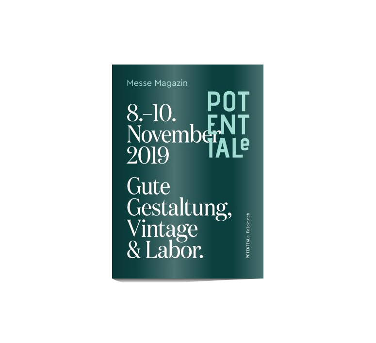 8-10 November 2019 Potentiale in Feldkirch, Architektur Werkstatt