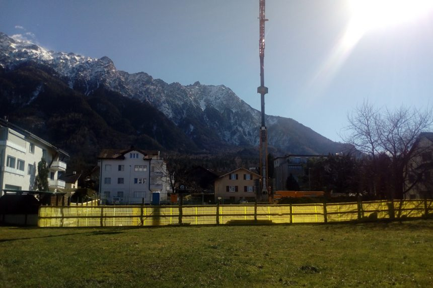 March 2018, Family House in Schaan (Li) , under construction