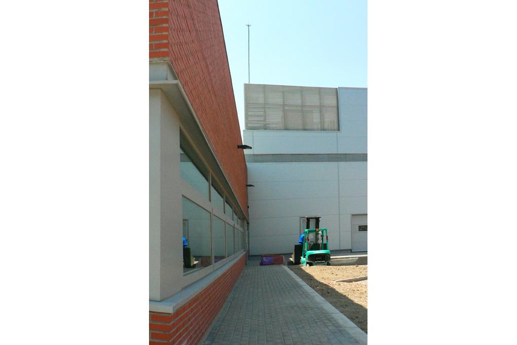 2003-2006 Multi-purpose building and VIP dinning rooms EADS / CASA, Getafe